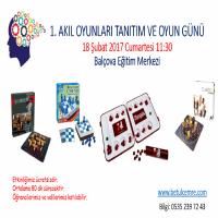 1. Akıl Oyunları Tanıtım ve Oyun Günü