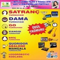 1. Betül Cemre Yıldız & Palmiye Festivali 9-10-11 Ekim'de