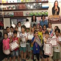 1. Piyon ve At Sınıfı Satranç Turnuvamızda Öğrencilerimiz Sertifika ve Madalyalarını Aldı