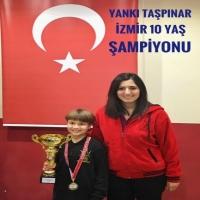 10 Yaş İzmir Şampiyonu Yankı Taşpınar