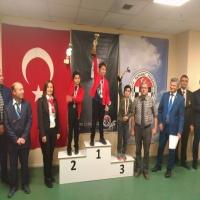 11 Yaş İzmir Satranç Şampiyonası'nda Öğrencilerimiz Bütün Kupaları Aldı