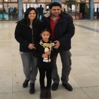 Ezgi Selen Aslan 8 Yaş Kızlar İzmir Şampiyonu