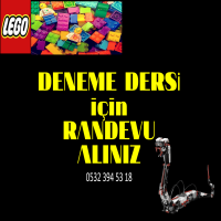 Lego Robot ve Kodlama Eğitimi için Deneme Derslerimiz