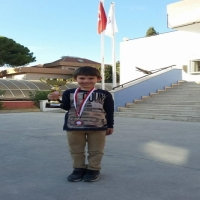 Öğrencimiz Emre Seha Kaya'dan İkincilik Kupası