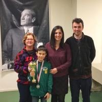 Samet Vatansever İzmir 12 Yaş Satranç Şampiyonasında İkinci oldu
