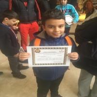 Yakup Yiğit Kardeşseven Kupa Kazandı