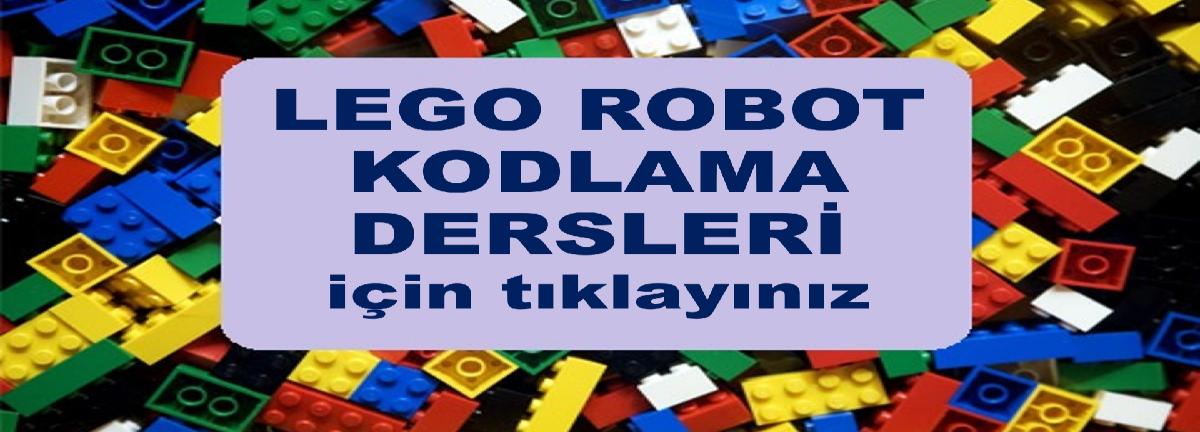 Lego Robot ve Kodlama Derslerimiz
